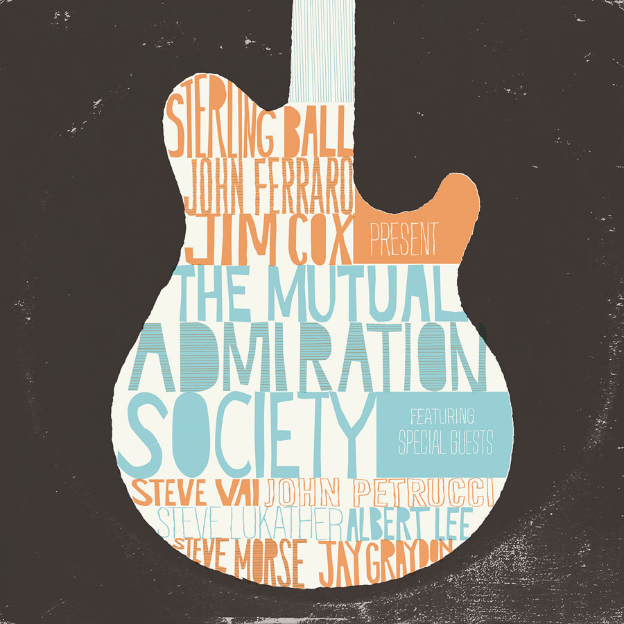 <h5>Sterling Ball, John Ferraro and Jim Cox<br>The Mutual Admiration Society</h5>